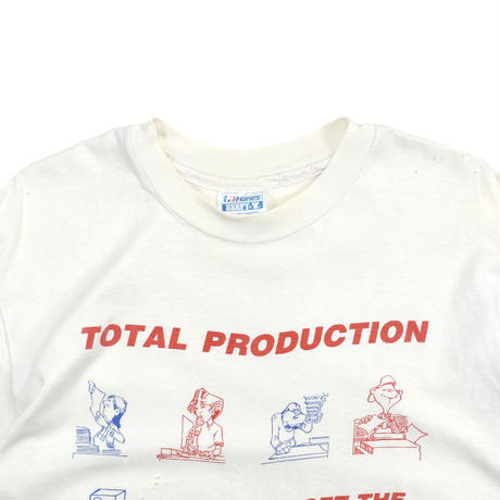 """USED 80'S """"PITNEY BOWES"""" T-shirt"""