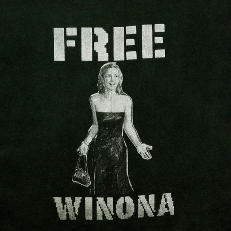 "USED ""FREE WINONA"" T-shirt"