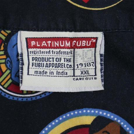 "USED ""PLATINUM FUBU / FAT ALBERT"" SHIRT"