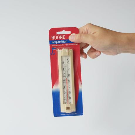 ヘルシンキの温度計