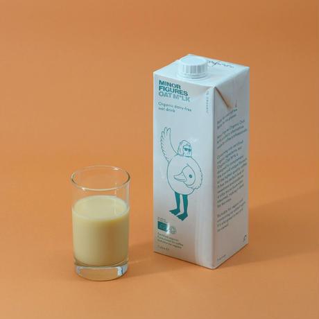 ラテにぴったりな有機オーツミルク
