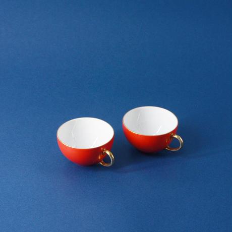 ビンテージARABIAのペアデミカップ