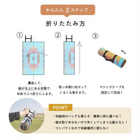 エスニック柄レジャーシート/アウトドアマット
