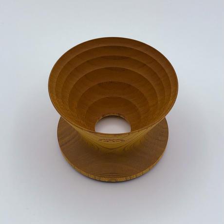 安清式木製ドリッパー 1~2人用 ナチュラル