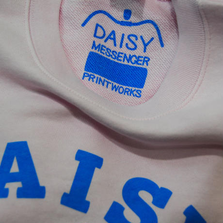 DAISY MESSENGER SWEAT SHIRT  (ライトピンク)