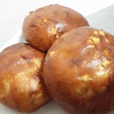 オレンジピール&レーズン丸だいずパン (1個)