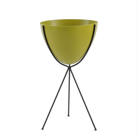 Retro Bullet Planter by Hip Haven™ – Tall(Olive)