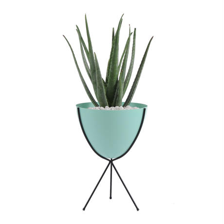 Retro Bullet Planter by Hip Haven™ – Medium(Olive)