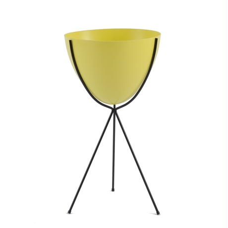 Retro Bullet Planter by Hip Haven™ – Tall(Sunny Yellow)