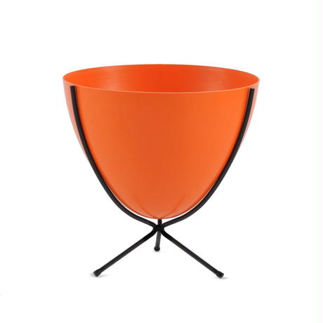 Retro Bullet Planter by Hip Haven™ – Short(Hot Orange)