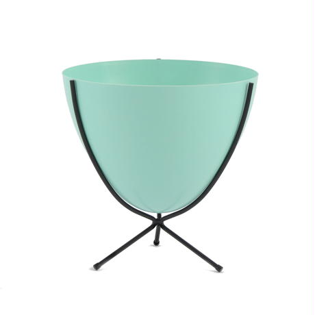 Retro Bullet Planter by Hip Haven™ – Short(Turquoise)