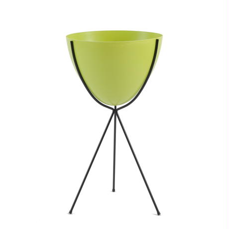 Retro Bullet Planter by Hip Haven™ – Tall(Chartreuse)