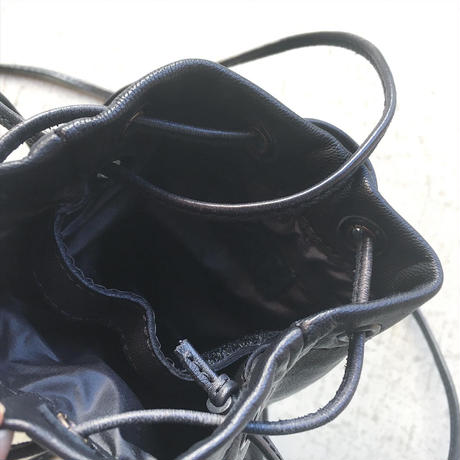 DROW STRING BAG WATER PROOF GOAT LEATHER