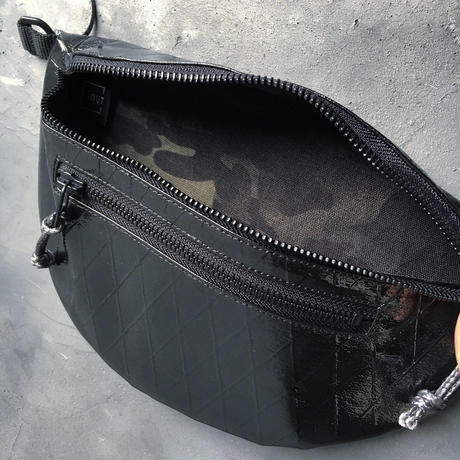 OUT LEATHER FUNNY PACK  X-PAC CAMO【数量限定】