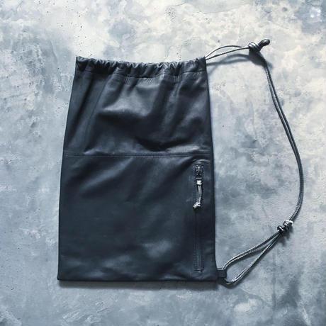OUT LEATHER SHOULDER BAG
