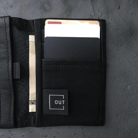 OUT LEATHER  CARD CASE TYPE1