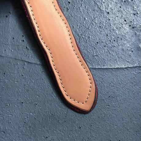 FROST LEATHER BELT
