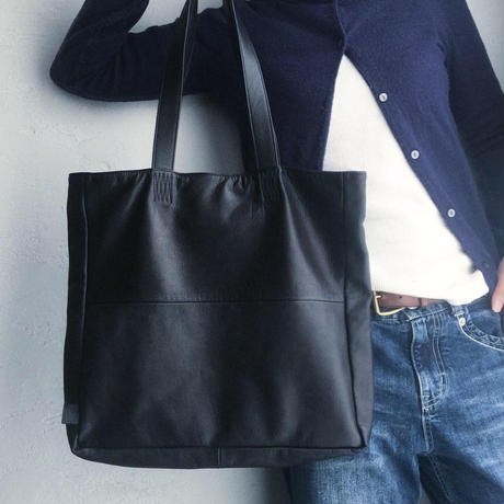 TOTE WATER PROOF GOAT LEATHER