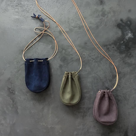 NUBUCK DROP 2WAY BAG