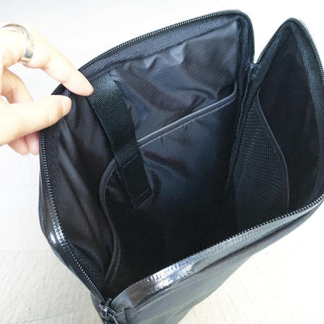 BACK BRIEF PACK  WATER PROOF GOAT LEATHER