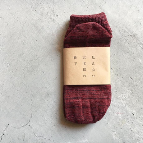 見えない五本指の靴下 ANKLE