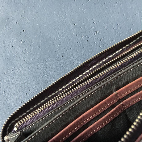 CRAFT LEATHER ZIP WALLET
