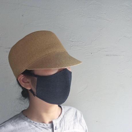 和紙100%デニムマスク