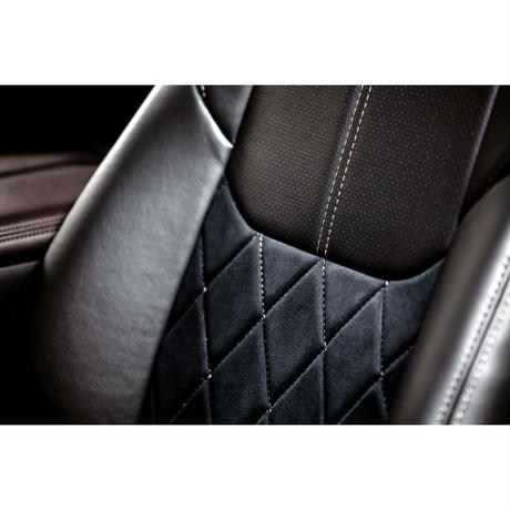 "【LIMITED OUTLET】Premium Fit Seat Cover for MAZDA CX-8 (KG) ""Black"""