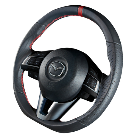 "DAMD Sports Steering Wheel for MAZDA ""SS365-M"" Leather Type"