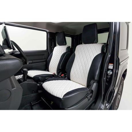"little G. Premium Fit Seat Cover ""WHITE"" for SUZUKI JIMNY / JIMNY SIERRA"
