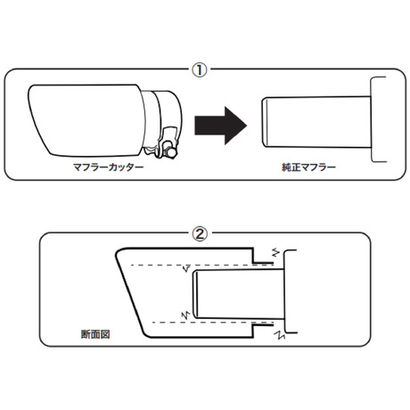 "CARBON EXHAUST TIP for MAZDA ""CMC-01"""