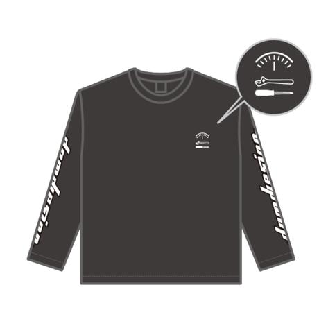 """damd design"" Long Sleeve T-shirt - black -"