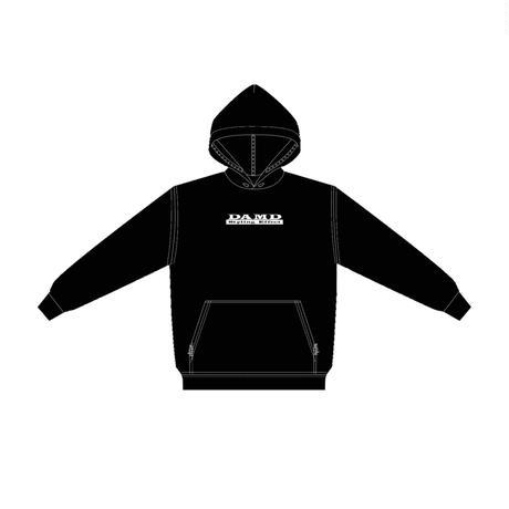 DAMD S.E box logo hoodie