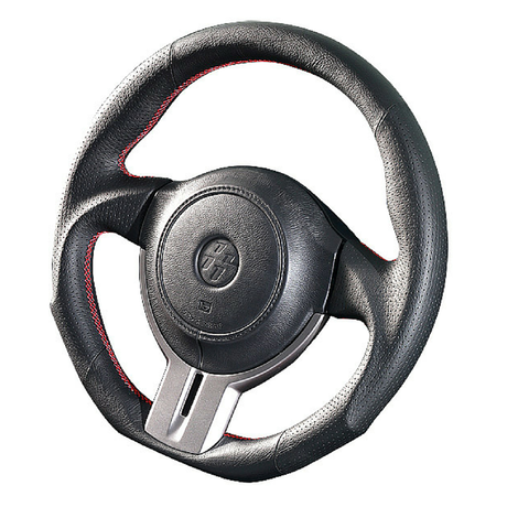 "DAMD Sports Steering Wheel for 86/BRZ ""SS358-Z"" All Leather"