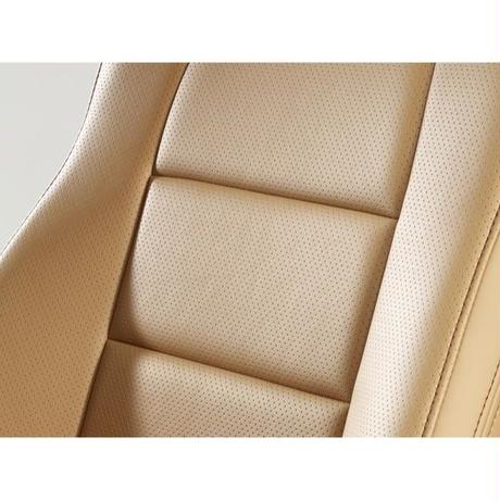 "Premium Fit Sheet Cover for MAZDA CX-5 (後期) ""Tan × Brown Stitch"