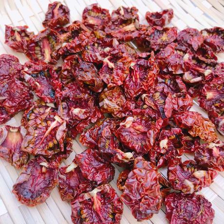 【熱海産♨無農薬】 無添加ドライミニトマト1袋 (品種:ブラッディタイガー)