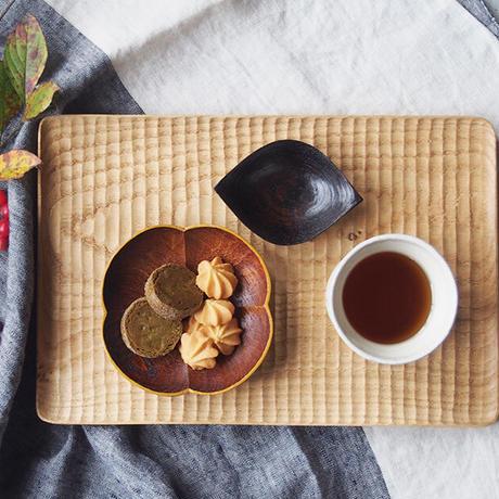 トナリ木工     パン皿/大 TON-18