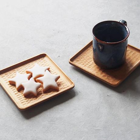 高塚和則 角皿コースター KO-12