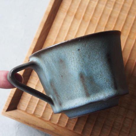 鯨井 円美 八角マグカップ KU-01