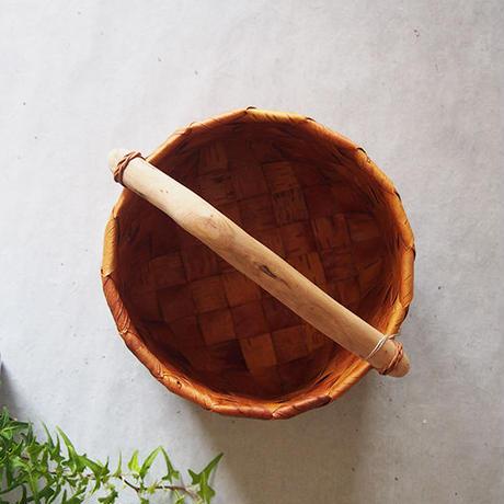 大地のかご 流木のバケツ中 MA-07