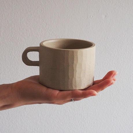 たま木工 マグカップ/白漆 TAM-03