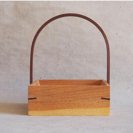 萩原英二 テーブルBOX/小 クルミ105角 HA-07