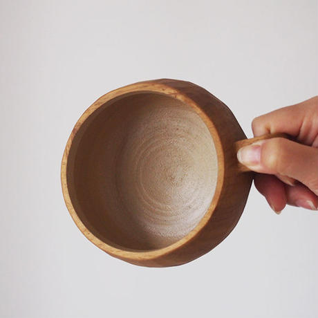 たま木工 スープカップ/イタジイ・カシ TAM-02