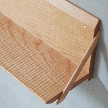 ふるいともかず ★ベンチ型掛け棚 FU-180 *受注製作