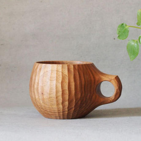 藤野智朗 クルミのマグカップ TO-11