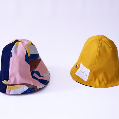ベビー帽子 はくちょうピンク