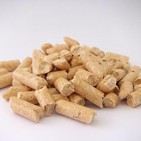 猫砂 木質ペレット 2kg(3.2L)×8 システムトイレ用 崩れるタイプ (ラベルあり)