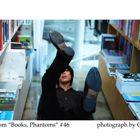 「Books, Phantoms」額装写真