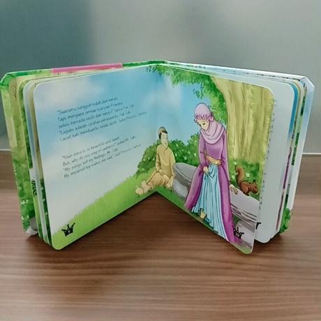 Princess Series Boardbook (Dwilingual)
