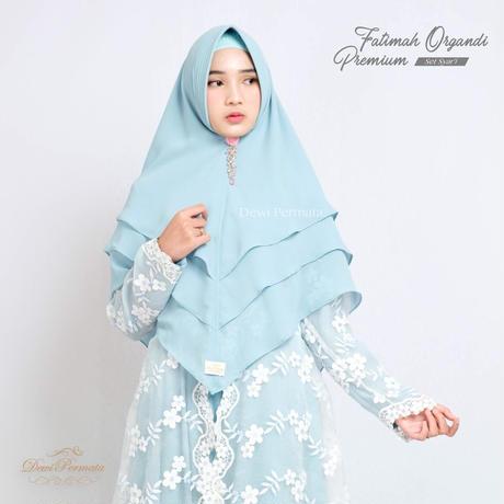 Fatimah Organdi Premium Set
